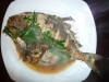 Pomfret with Ginger