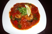 Fish and tomato sambal malay style