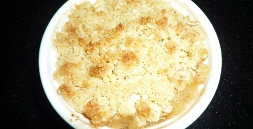 Apple & Quince Crumble 3