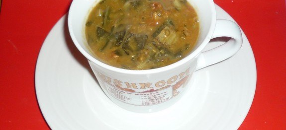 mung dhal and spinach 2