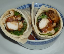CF 53of60 Caramelised onion chick wrap10