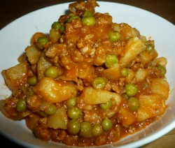CF 55of60 Minced lamb pots & peas7