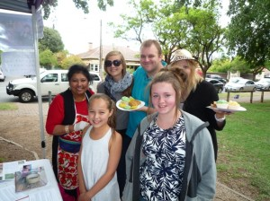 Our 2nd Crowd Funding Australia Day fundraiser, great support by all who attended as well as strangers attending the park on that day! My favourite person was the little girl standing in front of me asked for my Mi Goreng made with my sauces over any of other goodies that day! She made my day with such knowledge and taste for good food at young age, she came back to thank me and with her parents permission we took this photo with her friend and other supporters from that park :)