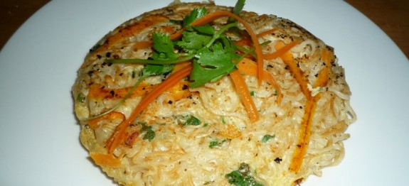 CF40of60 3 minute noodle omelette6