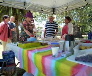 Our very first fundraiser to launch '6 North' Crowd Funding at Tusmore Park. South Australia.