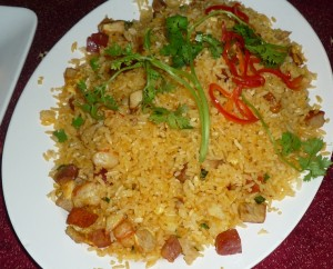 Another familiar dish of fried rice.