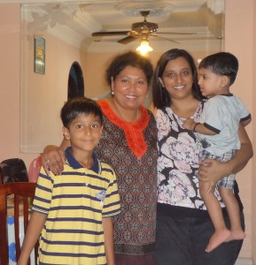Singapore with Prakash n family.10jpg