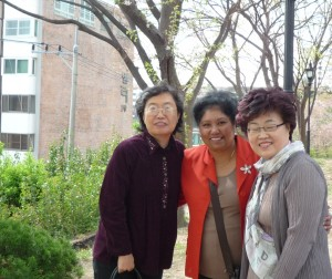 Korea with Reno's mum n auntie