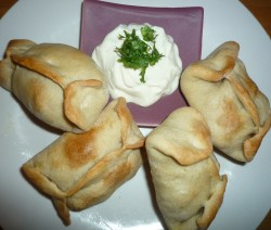 Minced Lamb or Beef Samosa Parcels6