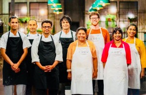 Competing in the week of the Indian cuisine on SBS's The Chefs' Line